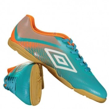 Chuteira Umbro Snake Futsal Verde