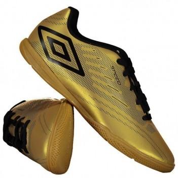Chuteira Umbro Speed IV Futsal Juvenil Dourada
