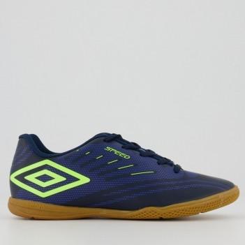 Chuteira Umbro Speed IV Futsal Juvenil Marinho