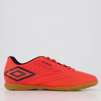 Chuteira Umbro Speed IV Futsal Laranja