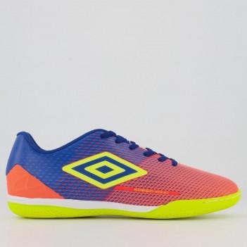Chuteira Umbro Speed Sonic Futsal Laranja