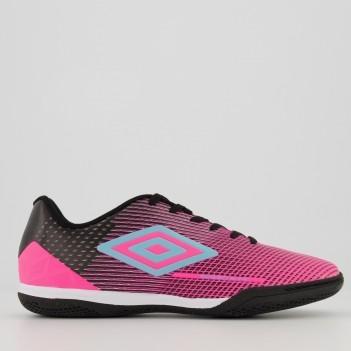 Chuteira Umbro Speed Sonic Futsal Rosa