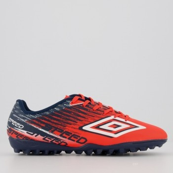 Chuteira Umbro Speed V Society Laranja