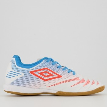 Chuteira Umbro Tocco Club Futsal Branca
