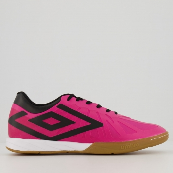 Chuteira Umbro Velocita 6 Club Futsal Rosa