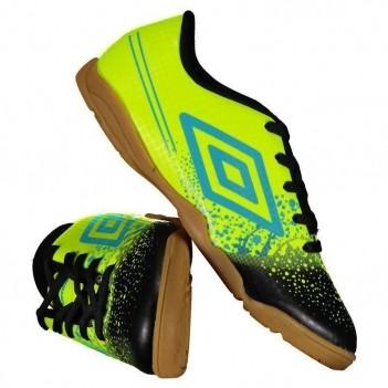 Chuteira Umbro Wave Futsal Juvenil Amarela