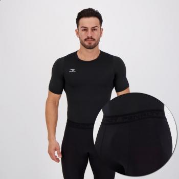 Conjunto Térmico Penalty Camisa e Bermuda Preta