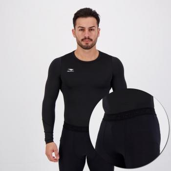 Conjunto Térmico Penalty Camisa e Calça Preta