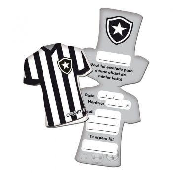 Convite Botafogo 8 Unidades