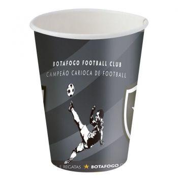 Copo Papel Botafogo 200ml 8 Unidades