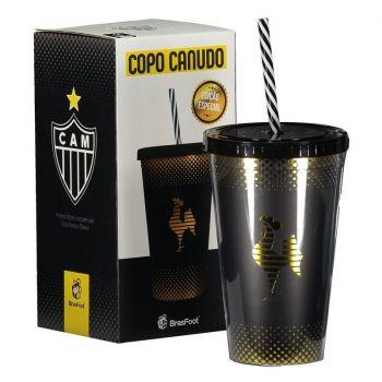 Copo Plástico Atlético Mineiro Ouro
