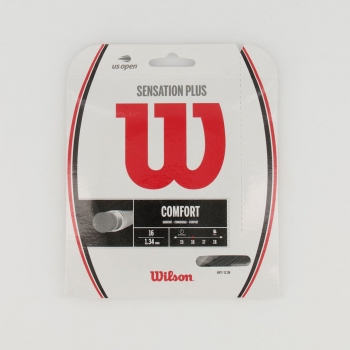 Corda para Raquete Wilson Sensation Plus 16 Preta