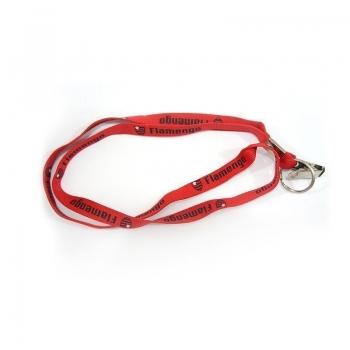 Cordão Flamengo Escudo Vermelho