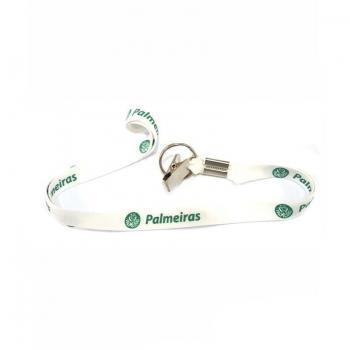 Cordão Palmeiras Escudo Branco