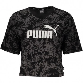 Cropped Puma Elevated Ess Log Preta