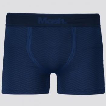 Cueca Boxer Mash Anatomic Sem Costura Azul