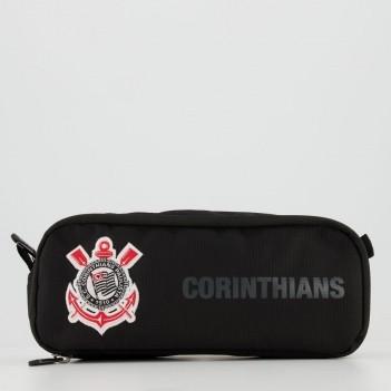 Estojo Corinthians Sport Preto