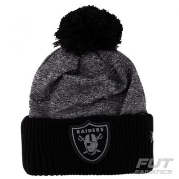 Gorro New Era NFL Oakland Raiders Cinza