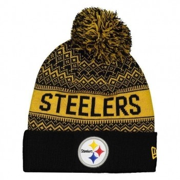 Gorro New Era NFL Pittsburgh Steelers Amarelo