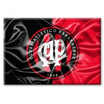Imã Atlético Paranaense Bandeira Ondulada