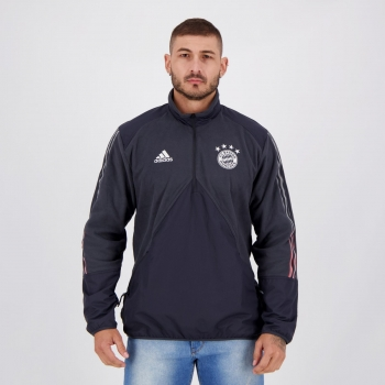 Jaqueta Adidas Bayern de Munique Viagem Chumbo