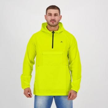 Jaqueta Adidas Corta Vento Innovation Amarela