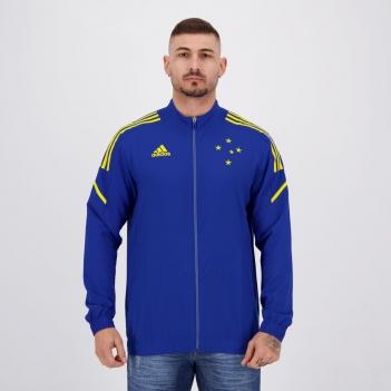 Jaqueta Adidas Cruzeiro Treino Azul