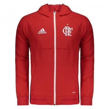 Jaqueta Adidas Flamengo Viagem 2017 Vermelha