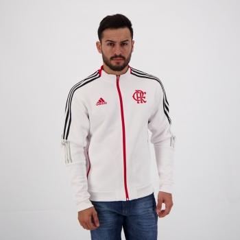 Jaqueta Adidas Flamengo Hino Branca