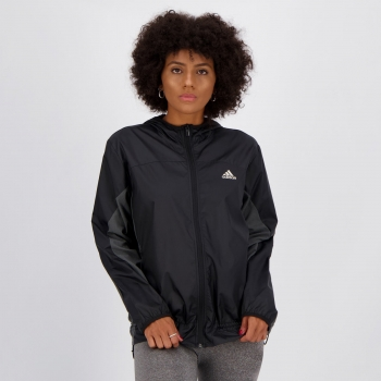 Jaqueta Adidas Innovation Corta Vento Feminina Preta