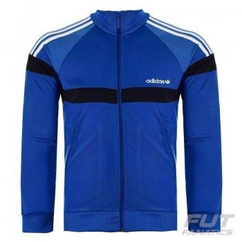 Jaqueta Adidas Itasca Azul e Preta