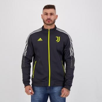 Jaqueta Adidas Juventus Hino Chumbo