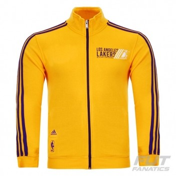 Jaqueta Adidas NBA LA Lakers