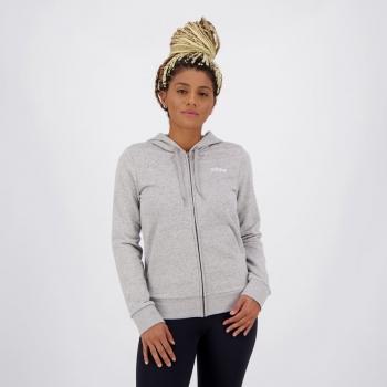 Jaqueta Adidas PLN FZ Feminina Cinza
