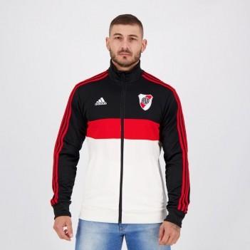 Jaqueta Adidas River Plate Preta e Branca
