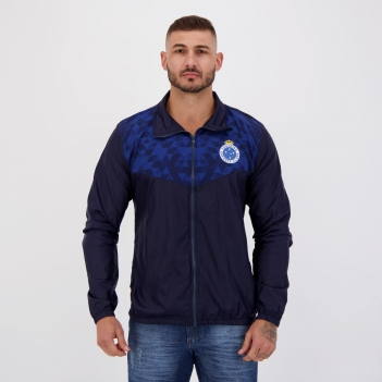 Jaqueta Cruzeiro Sleeve Marinho