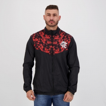 Jaqueta Flamengo Sleeve Preta