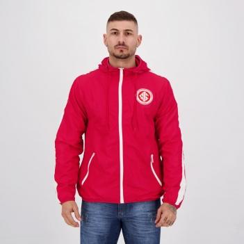 Jaqueta Internacional Corta Vento Inserts Vermelha