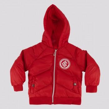 Jaqueta Internacional Infantil Vermelha e Branca