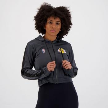 Jaqueta NBA Los Angeles Lakers Feminina Chumbo