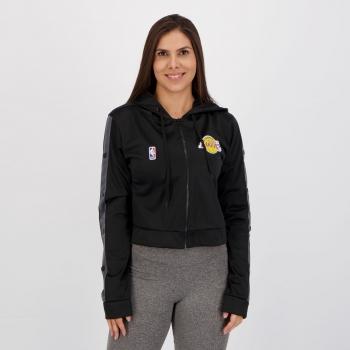 Jaqueta NBA Los Angeles Lakers Feminina Preta