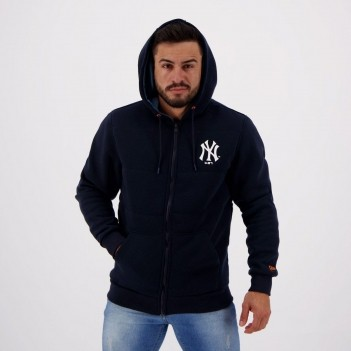 Jaqueta New Era MLB New York Yankees Neon Azul Marinho