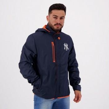 Jaqueta New Era MLB New York Yankees Neon Marinho