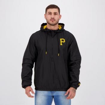 Jaqueta New Era MLB Pittsburgh Pirates Preta