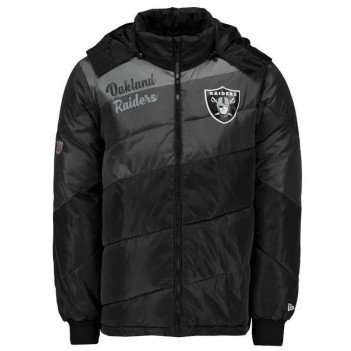 Jaqueta New Era NFL Oakland Raiders Bomber
