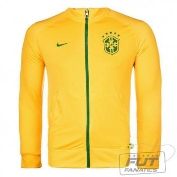 Jaqueta Nike Brasil CBF Track Juvenil