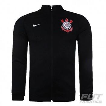 Jaqueta Nike Corinthians N98 Preta e Branca