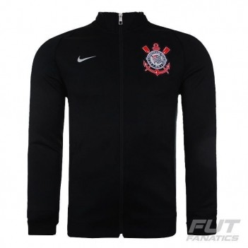 Jaqueta Nike Corinthians N98 Preta e Cinza