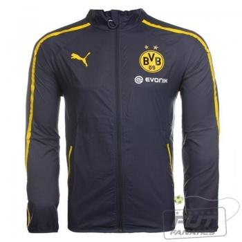 Jaqueta Puma Borussia Dortmund Walk Out Jacket