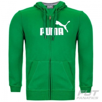 Jaqueta Puma Ess Fundamentals Logo Verde